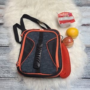 Igloo school Lunch pail black and orange